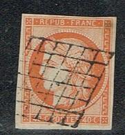 A7b-N°5  Sans Défaut Signé Calves - 1849-1850 Ceres