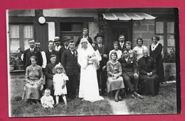 Grande PHOTO 18 X 12 Cm Des Années 1930.. MARIAGE MARIES.. Fonds Photographique BOURGAULT à FLERS ( Orne 61) - Personas Anónimos