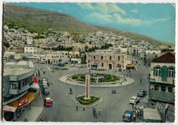 Opel Rekord P I,Mercedes Ponton W120,Nablus,Commercial Street,Jordanien, Ungelaufen - PKW