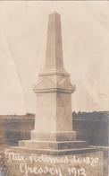 Gressey 78 - Carte-Photo Monument Guerre De 1870 - 1912 - Zonder Classificatie
