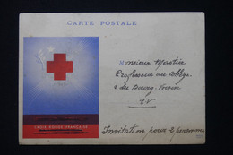 FRANCE - Croix Rouge - Carte D'Invitation à Une Séance Cinématographique De Propagande C.R. à Semur En 1944 - L 87731 - Collezioni