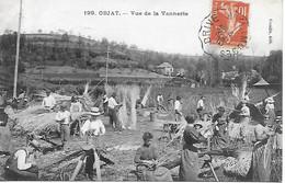 OBJAT - Vue De La Vannerie - Corrèze  - TOP CARTE TRES RARE ! - Parfait état - Postée En 1910 édit. Coeuille 2 Scans - Other Municipalities