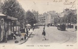 TOULOUSE (Haute-Garonne): La Place Esquirol - Toulouse