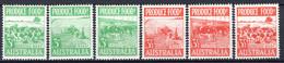 1953 - AUSTRALIA  - Mi. 223/228 - NH - (5128-3...) - Mint Stamps