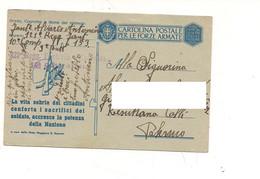 3946) FRANCHIGIA WW2 POSTA MILITARE 153 13-1-1943 SLOVENIA  La Vita Sobria - Franchigia