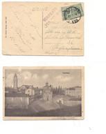 3952) POSTA MILITARE ALBANIA 126 1918 Cartolina AQUILEIA Udine - Storia Postale