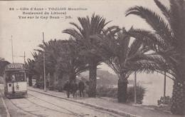 TOULON Mourillon (Var): Boulevard Du Littoral - Vue Sur Le Cap Brun (tramway) - Toulon