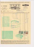 G. Fierens - Fimetal - Bakkerij Boulangerie Patisserie - Mortsel 1969 - Factuur - Food