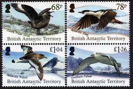 British Antarctic Territory (BAT) - 2020 - Antarctic Birds - Mint Stamp Set - Unused Stamps