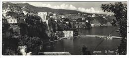 8629 -  SORRENTO NAPOLI IL PORTO MERGELLINA PANORAMICA 1950 CIRCA - Andere Steden