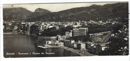 8631 -  SORRENTO NAPOLI PANORAMA E MARINA DEI PESCATORI PANORAMICA 1950 CIRCA - Andere Steden