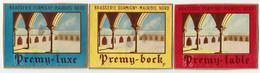 Ancienne étiquette Bière Brasserie Dormigny à Maurois 59 - Bier