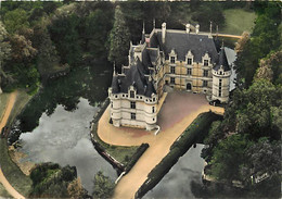 37 - Azay Le Rideau - Le Château - Vue Aérienne - CPM - Voir Scans Recto-Verso - Azay-le-Rideau