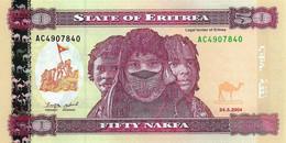 ERYTHREE 2004 50 Nakfa - P.07  Neuf UNC - Eritrea