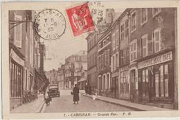 Carignan  08   La Grande-Rue Bien Animée-Voiture -Charcuterie-HUGO Et Café Epicerie En Face Magasin De Velos - Andere Gemeenten