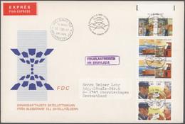 Finnland: 1945/2002, Briefe Und Karten, FDC - Viele Portogerecht - Auch Per Einschreiben Sowie Per E - Cartas