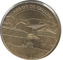 Saint Guilhem Le Désert : Abbaye De Gellone (Monnaie De Paris, N°2009) - 2009