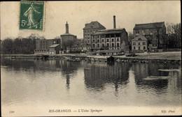 CPA Ris Orangis Essonne, L'Usine Springer - Andere Gemeenten