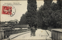 CPA Ris Orangis Essonne, Pont De Ris, Vue Du Sanatorium De Champrosay - Andere Gemeenten