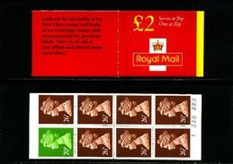 GREAT BRITAIN - 1997  £ 2  BOOKLET  NEW STYLE  20p/26p  (CORRECTED)  MINT NH  SG FW 9a - Booklets