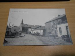 GEDINNE Route De La Gare Animée Circulée En 1909 - Gedinne