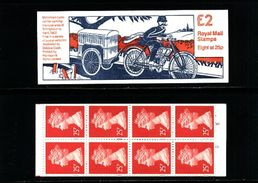 GREAT BRITAIN - 1993  £ 2  BOOKLET  MOTOR CYCLE   MINT NH  SG FW 1 - Booklets