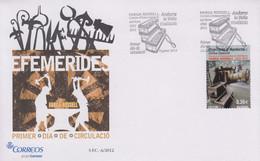 Enveloppe  FDC  1er  Jour  ANDORRE   Centre  D' Interprétration  Du  Fer    2012 - Sin Clasificación