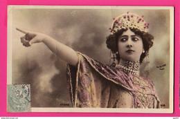 CPA (Réf: Z 3530)  (SPECTACLE CABARETS) Photo REUTLINGER Artiste Femme  Otero - Cabaret