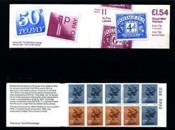 GREAT BRITAIN - 1984  £ 1.54  BOOKLET  POSTAGE DUES  LM  MINT NH  SG FQ 1a - Booklets
