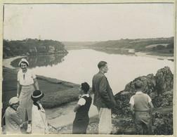 Stéréo Amateur. La Vilaine à La Roche-Bernard (Morbihan). Bretagne. 1935. - Stereoscoop