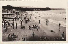Bulgaria Postcard Varna Beach Scene - Bulgaria