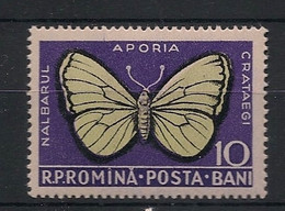 Roumanie - 1956 - N° Yv. 1461 - Papillon - Neuf Luxe ** / MNH / Postfrisch - Farfalle