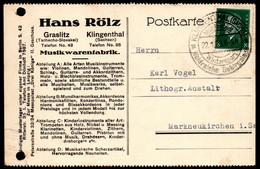 E8105 - Klingenthal Graslitz - Hans Rölz - Firmenpost Bedarfspost - Storia Postale