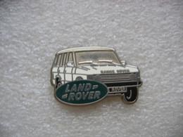 Pin's D'un Range Rover De Couleur Blanche Du Fabricant Land Rover - Other