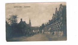Saffelaere Kerkstraat Foto Kaart ZELDZAAM - Lochristi