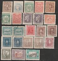 Ukraine Lot De 23 Timbres Neufs Et Oblitérés 1918-1921 - Ukraine