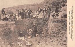 Solutré Pouilly Canton Mâcon Archéologie Fouilles Cim Ducôté - Altri Comuni