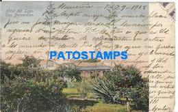 152479 PARAGUAY SAN BERNARDINO HOTEL DEL LAGO YEAR 1905 CIRCULATED TO URUGUAY POSTAL POSTCARD - Paraguay