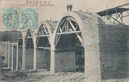 54) ANDERNY - MALAVILLERS : Le Viaduc De Brabant - Cantine Nadot (1906) - Otros Municipios