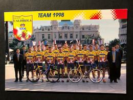 Vini Caldirola - Team - 1998 - Carte / Card - Cyclists - Cyclisme - Ciclismo -wielrennen - Cycling