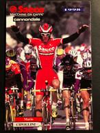 Mario Cipollini - Saeco - 1998 - Carte / Card - Cyclists - Cyclisme - Ciclismo -wielrennen - Cycling