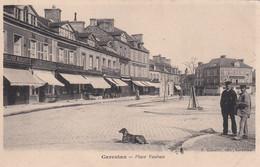 FR-50: CARENTAN: Place Vauban - Chien - Carentan