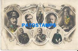 152499 ROYALTY KINGDOMS OF NATIONS AT WAR BREAK POSTAL POSTCARD - Case Reali