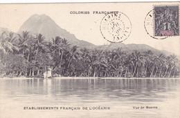1143/ Colonies Francaises, Vue De Moorea, 1906 - Polynésie Française