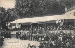 Chalon Sur Saône Fêtes 1913 Inauguration Pont Bourgeois - Chalon Sur Saone