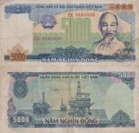Viet Nam / 5.000 Dong / 1987 / P-104(a) / VF - Vietnam