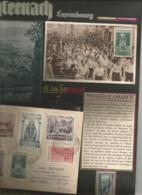 Willibrord , TRES BELLE Page D'exposition :  Série Complète FDC Sur Un Envoi Recommandé , Carte 0 N° 300 , ..... - Covers & Documents