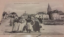 CPA  ST GILLES  SUR VIE  VUE Générale - Saint Gilles Croix De Vie