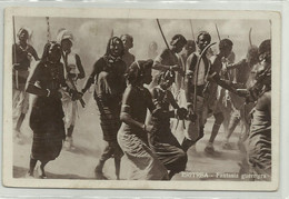 ERITREA - FANTASIA GUERRIERA - NV   FP - Eritrea