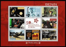 Europa Cept - 2005 - Benin - 1.Sheetlet Of Complete Set ** MNH - 2005